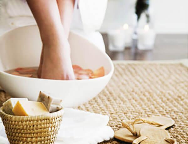 泡脚减肥方法