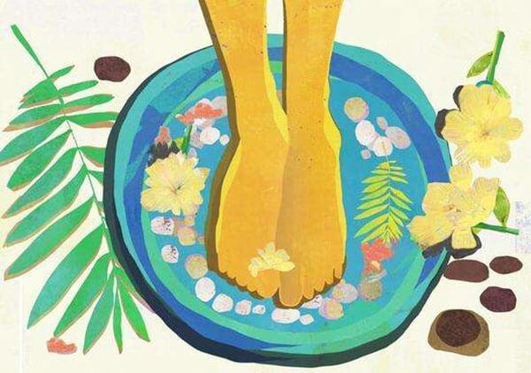 拉拉秧煮水泡脚的功效