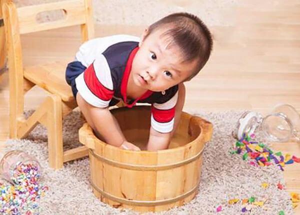 小孩可以用艾叶泡脚吗