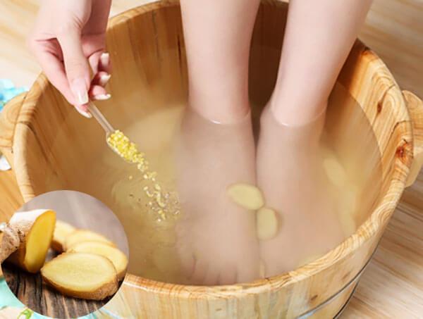 用姜水泡脚有什么好处
