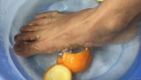 用橘子皮泡脚有什么好处