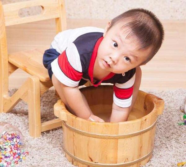 儿童姜水泡脚的禁忌